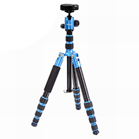 Light weight travel tripods