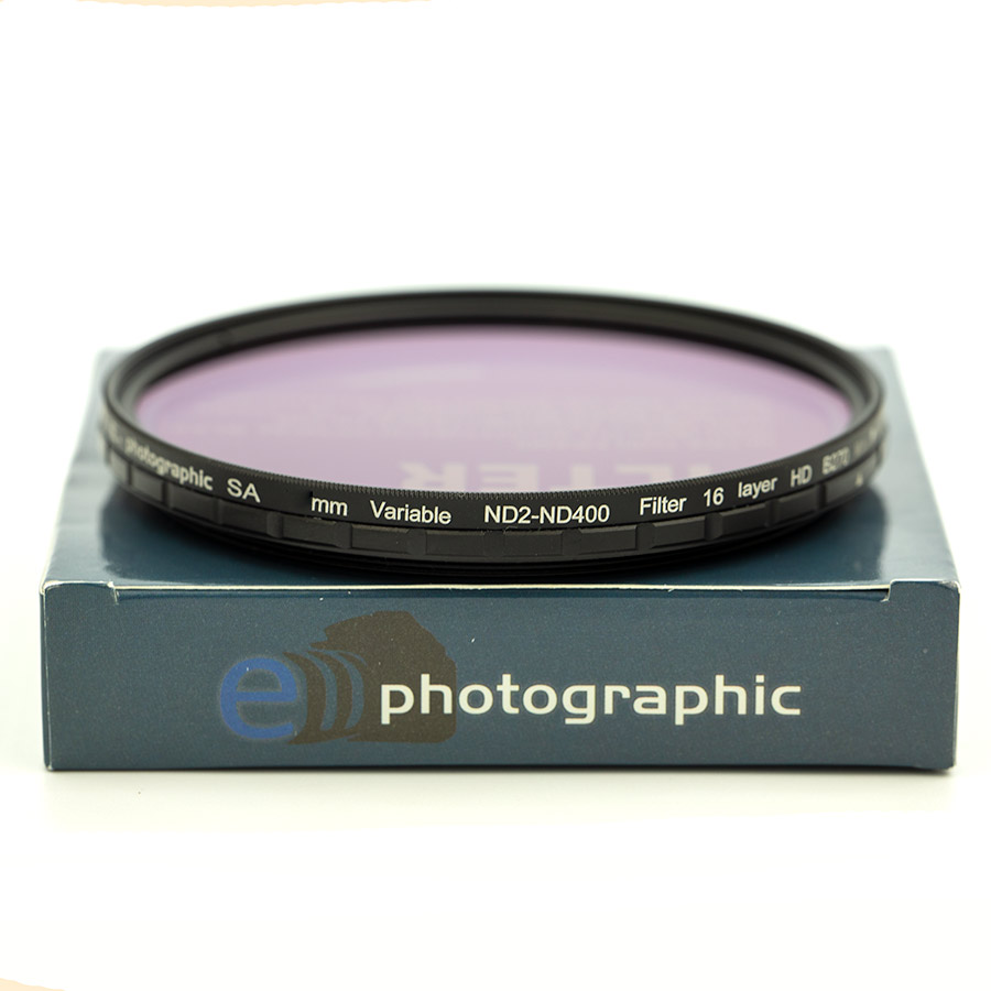 Variable ND2-ND400 Filters