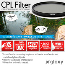58 mm Gloxy Circular Polarizer Filter