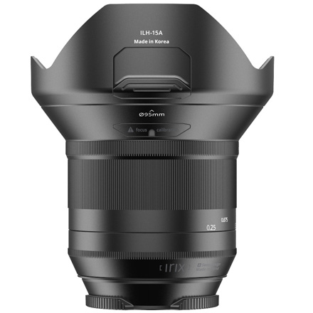 Rear view image of Irix 15mm F/2.4 for Nikon  DSLR's