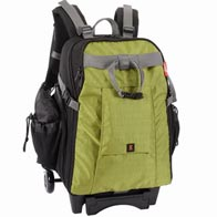 Jenova DSLR & Laptop Roller/Trolley Backpack Green - Large