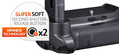Nikon Battery grip for D3100, D3200 and D3300 by Gloxy